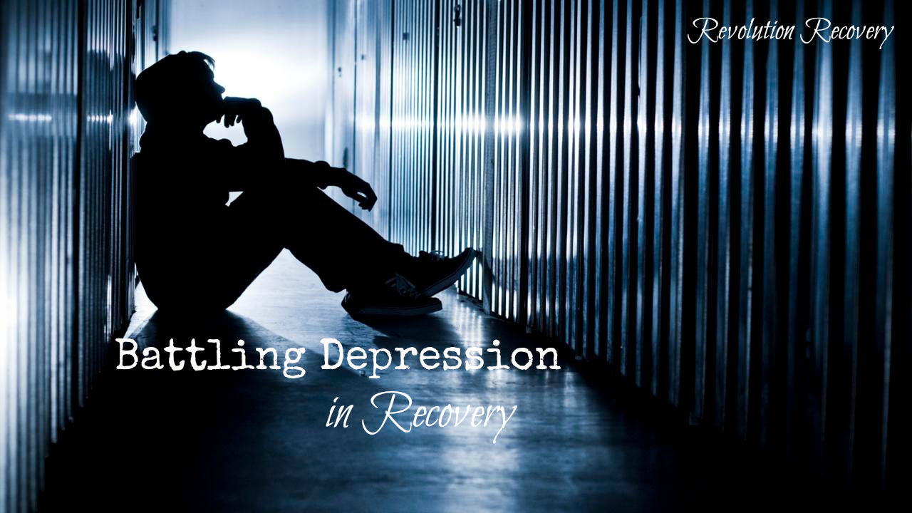 Battling Depression While in Recovery