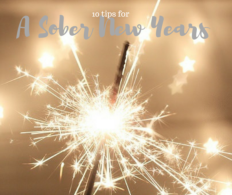 10 Tips for a Sober New Years
